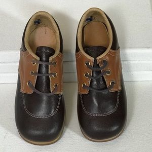Vintage 1970s Buster Brown Oxford Shoes Leather